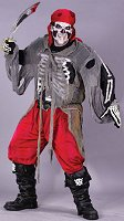 'Buccaneer Bones' costume