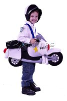 'I'm a Police Bike, Toddler' costume
