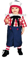'Raggedy Andy' costume
