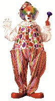 'Snazzy/Harpo Hoop Clown costume