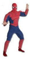 'Spiderman Muscle Chest Adult' costume